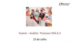 Exame VDA 6.3