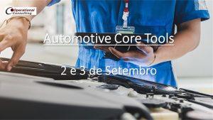 Automotive Core Tools