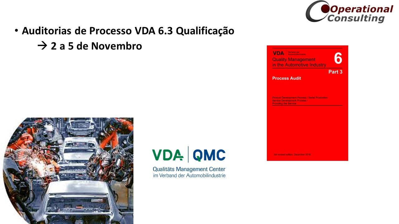 VDA 6.3 Qualificação